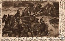 21334/ Künstler AK, schwere Artillerie, 1916