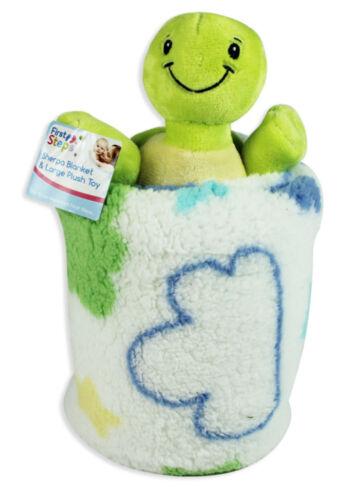 Super Soft Baby Blanket with Plush Toy Newborn Luxury Gift Baby Shower Nursery