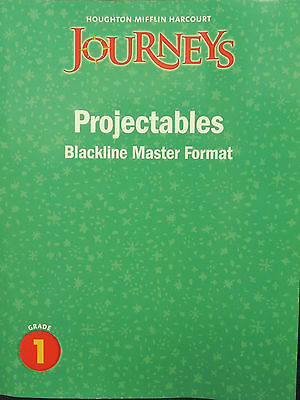 Houghton Mifflin Journeys Projectable Blackline Master 1st Grade Level 1 Teacher 9780547373454 EBay