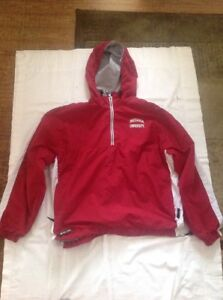 Coat Hoosiers Red Over Jacket Iu Hooded Holloway Indiana Puller dSUwzqUY