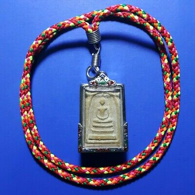 Amulet Buddha Coin 8 gods Old Phra Somdej Wat King China Good luck Thailand 8神