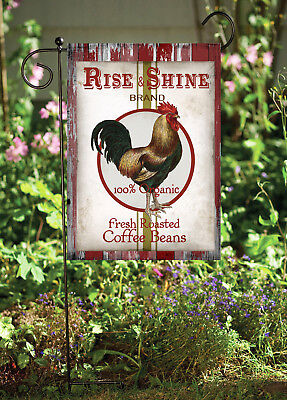 Double Sided Soft Flags **GARDEN SIZE**   FG1381 Moulins Chicken Grains