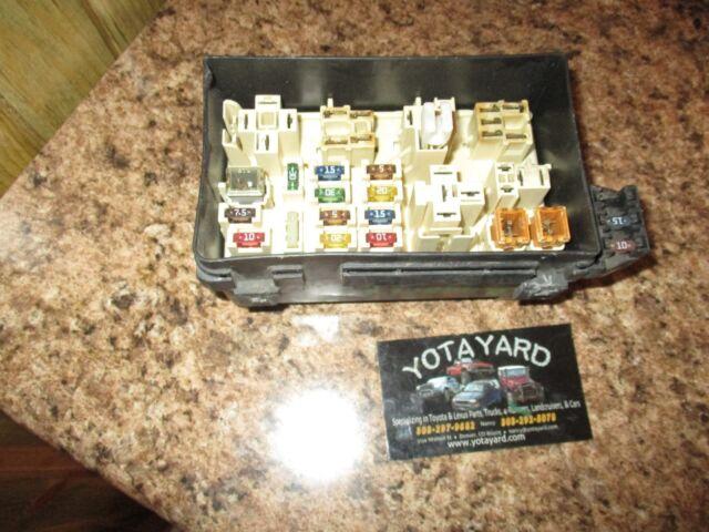 99 Toyota Solara Engine Block Relay Fuse Box Yota Yard