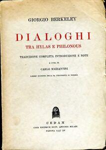 Berkeley-Giorgio-DIALOGHI-TRA-HYLAS-E-FILONOUS-a-cura-di-Carlo-Mazzantini