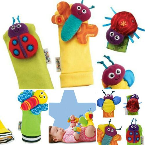 feet finders baby sensory toy wrist rattle stocking filler newborn gift lamaze