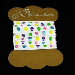 PréVenant Easter Egg Ribbon Grosgrain Bows 1m- 2 M 5 M 10 Mm Wide Er9-afficher Le Titre D'origine