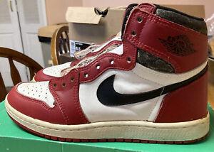 Details about Original 1985 Nike Air Jordan 1 Chicago Size 8.5 85 Og Last  Dance One
