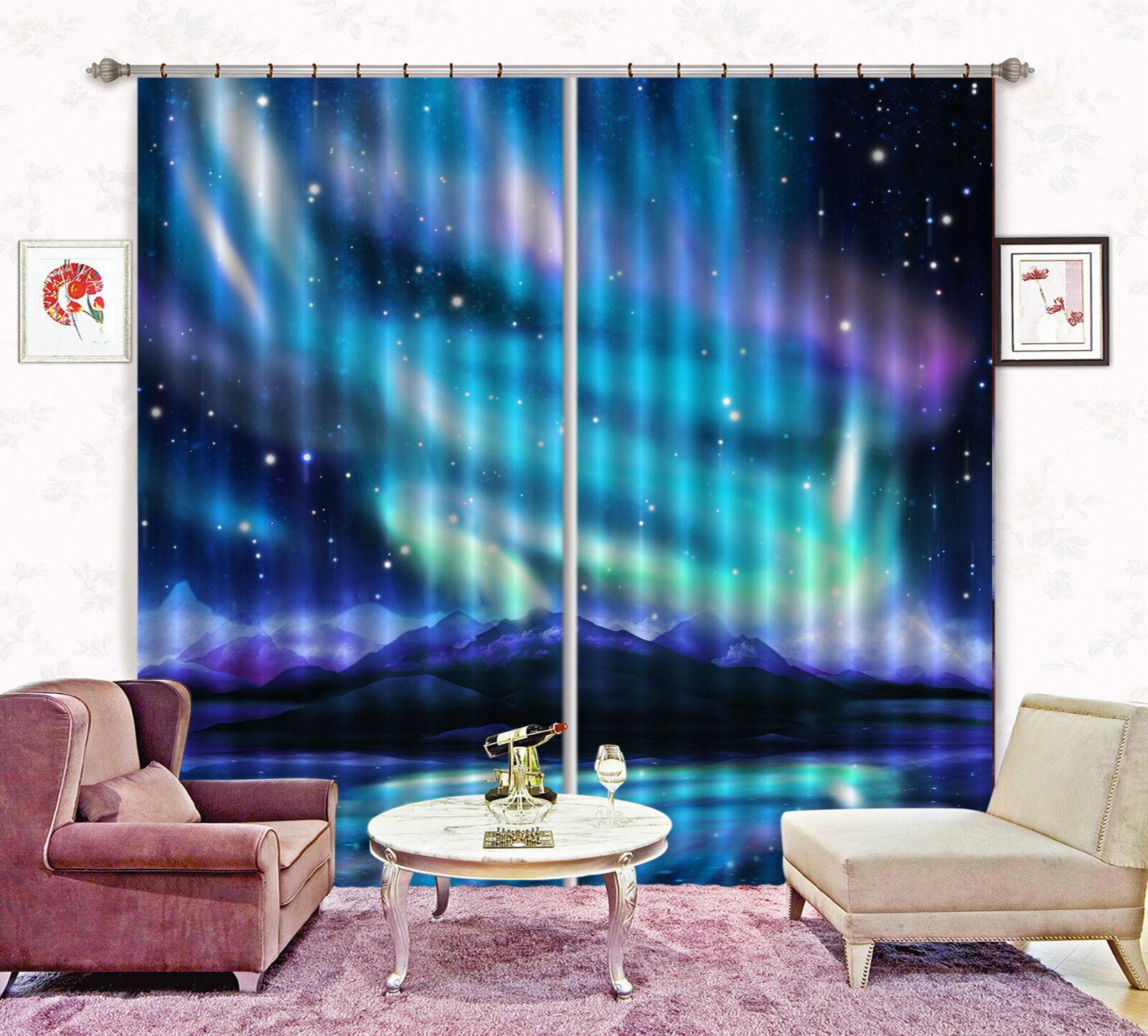 3d polar luz 556 bloqueo foto cortina cortina de impresión sustancia cortinas de ventana