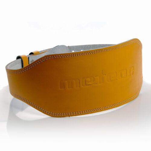 Kraftsportgürtel METEOR® Gewichthebergürtel 2 verfügbare Größen Schmal Breit