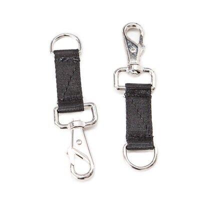 Coraggioso Bucas Belly Pad Extender Strap Pairs-black-estensione- Disabilità Strutturali
