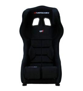 Motamec Racing Gp1 FIA Approved Race Seat GRP Shell Side Mount Black Hans