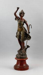 Art Sculptures 281941909.7oz´ Industry Cast Metal Frauen-skulptur Guillemin Good Heat Preservation