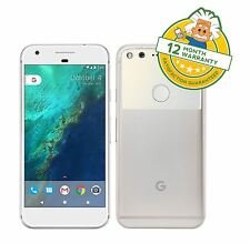 Google Pixel 32GB Very Silver Unlocked Android 7 Smartphone G-2PW4200 GRADE B