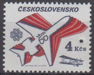 Specimen, Czechoslovakia Sc2474 Czechoslovak Airlines Plane, World Communication