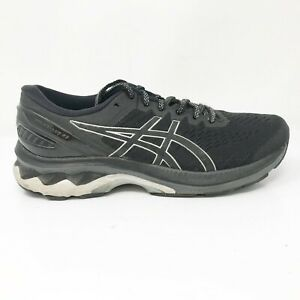 Asics-Womens-Gel-Kayano-27-1012A713-Black-Running-Shoes-Lace-Up-Size-7-5-Wide