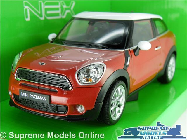 MINI COOPER S PACEMAN MODEL CAR 1 24 SCALE RED WELLY OPENING PARTS LARGE BMW K8