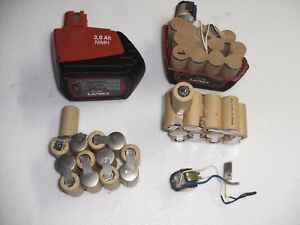 1-kit-batterie-battery-bateria-hilti-SFB155-3Ah-no-battery-only-1-pack13-cells