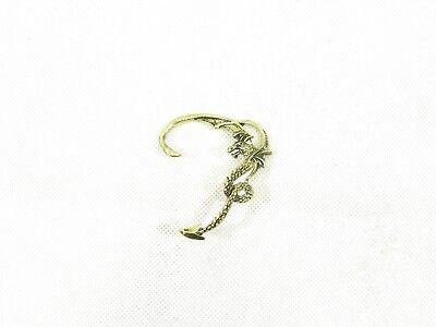 Dragon Earring//Ear Cuff Vintage Boho Chic Punk Goth Punk Halloween Fancy Dress