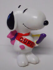 1990's Whitman's Chocolate Peanuts Cupid Snoopy PVC Figure Cake Topper