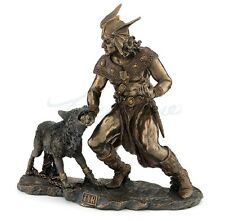 Norse God Tyr with Hand in Fenrir's Mouth Statue Sculpture Figurine Ragnarok