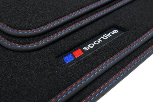 2011 Sportline Fußmatten für BMW 1er F20 F21 3-Türer//5-Türer Schrägheck Bj