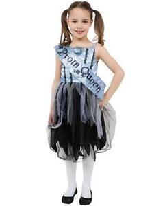 Costume Halloween Regina.Dettagli Su Ragazze Sanguinoso Prom Regina Scuola Costume Halloween Fancy Dress Outfit Kids Zombie Mostra Il Titolo Originale