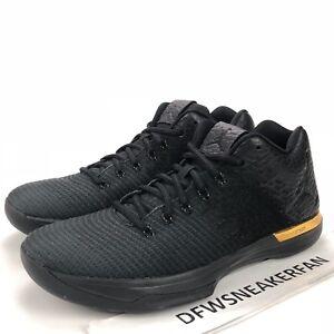0d33c36dac182 Nike Air Jordan XXXI 31 Low Black Gold 897564-023 Men s 12 ...