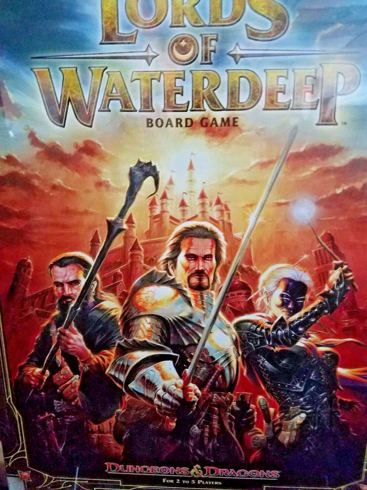 Lords of Waterdeep: A Dungeons & Dragons Board Game - Board Game Nuovo