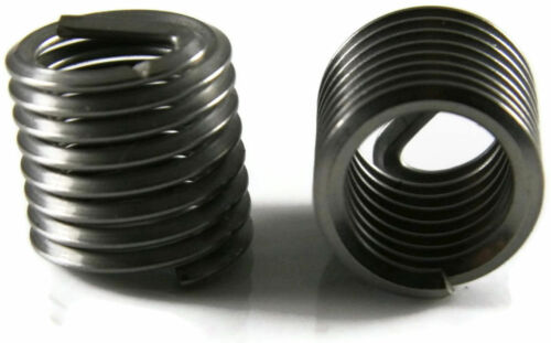 Stainless Steel Helicoil Thread Insert #6-32 x 1.5 Diameter Qty-25