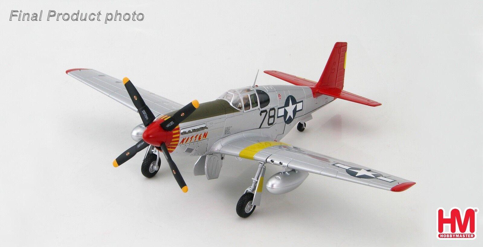 Hobby Master HA8507B  1 48 P-51B C Mustang Kitten Charles McGee 302nd FS 332nd FG  100% garantie d'ajustement