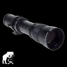 Dörr Zoom-Teleobjektiv 420-800mm/8,3 T2 für Nikon D3200 D3300 D5200 D5300 D5500