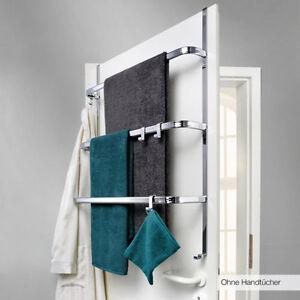 T r handtuchhalter handtuchhaken handtuch t rhaken t rhalterung handtuchstange ebay - Handtuchhalter ohne bohren aldi ...