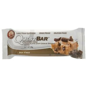 Quest Chocolate Chip Cookie Dough Protein Bar 60g