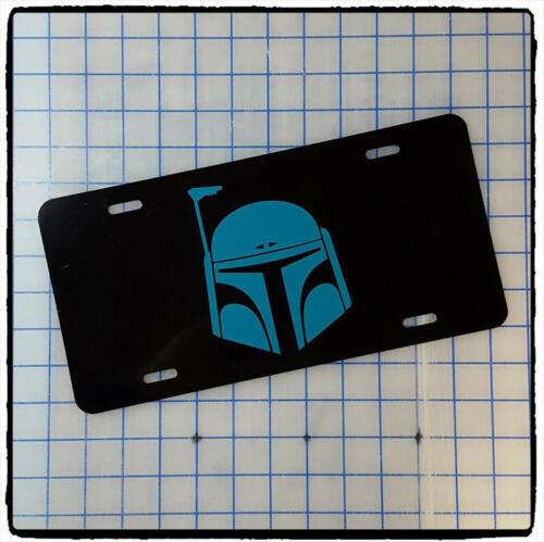 Car Tag Star Wars Boba Fett Custom License Plate