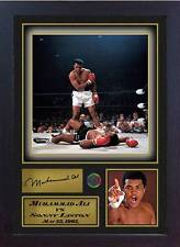 Boxer Muhammad Ali signed autograph Boxing photo print Framed #2