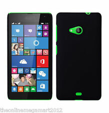 Premium Black Pc Slim Back Hard Case,Cover,Pouch for Microsoft Nokia Lumia 535