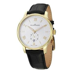 e25957e4fcb Image is loading Alexander-A102-03-Statesman-Regalia-Swiss-Quartz-Date-