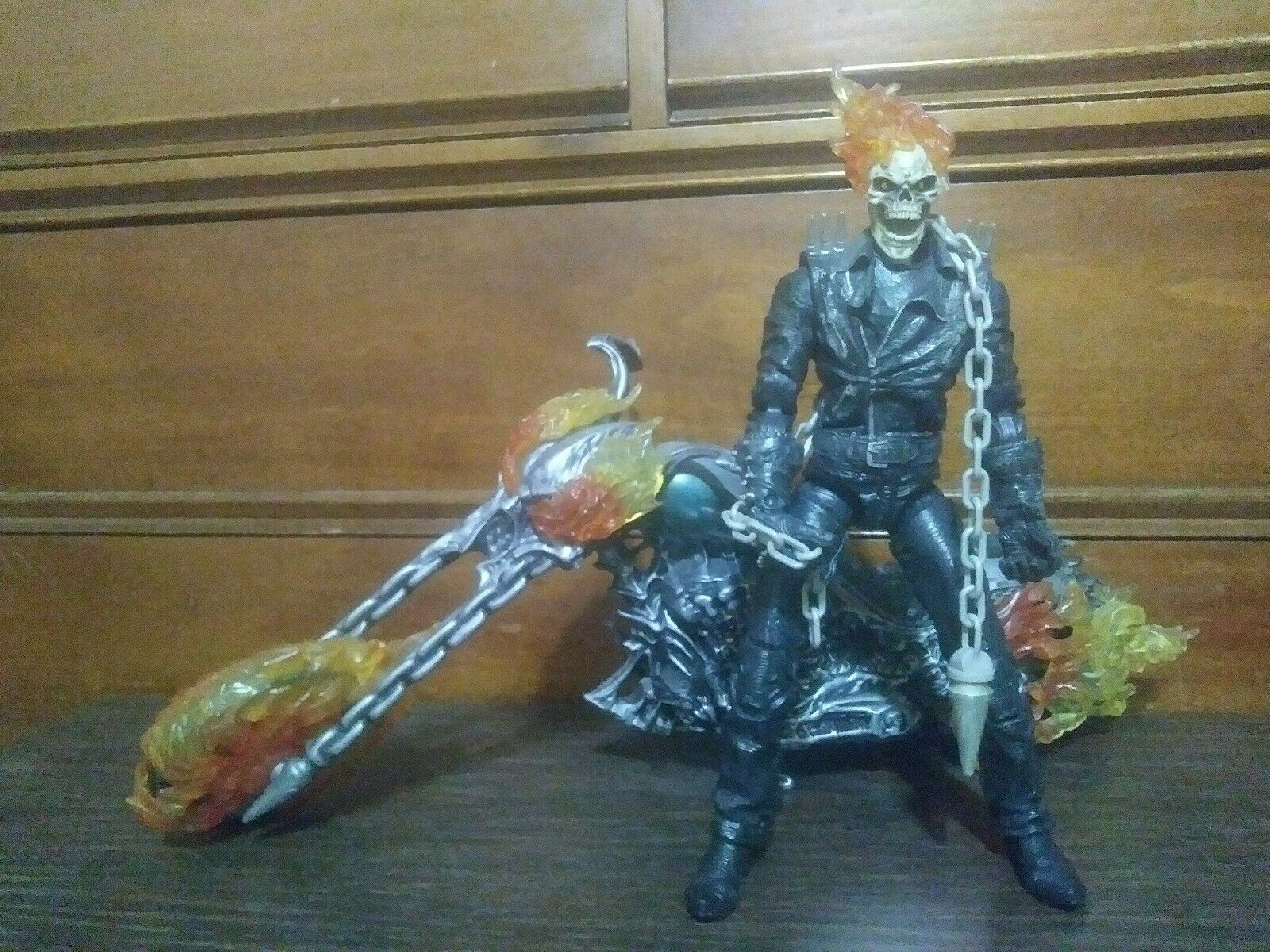 MARVEL icônes GHOST RIDER MOVIE 12  Ultimate Action Figure avec Moto 2007