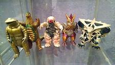 5 Ultra Kaiju lot Ultraman Godzilla Gamera Marmit Bullmark kaiju Bandai