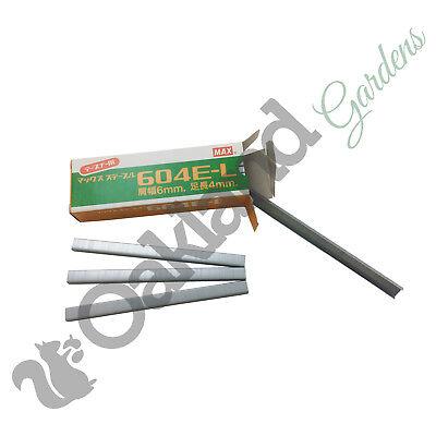 10 Rolls Tape no15 26Mts For Max Gun 604EL Max Tapener Refill Pack Staples