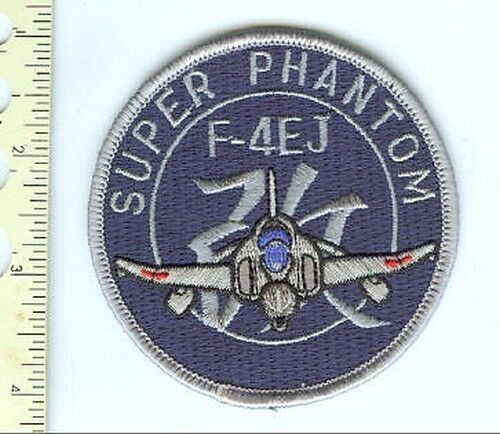 Military Patch Super Phanton F-4EJ East Pac Cruise 80s