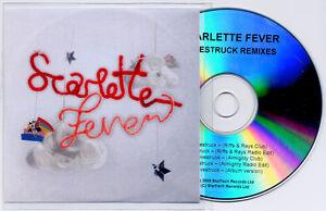 SCARLETTE-FEVER-Lovestruck-UK-5-trk-promo-CD-Almighty-Mixes