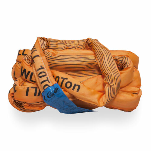 1m ENDLESS SLINGS round lifting strap cargo transporting load construction site