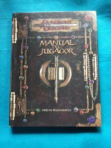 Rol-Dungeons-amp-Dragons-Manual-del-Jugador-Devir-RL826