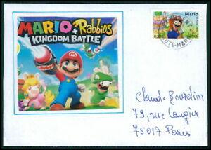 France Cover Video-jeux Jeu Vidéo Bande Dessinée Super-mario & Luigi Pièce Unique!!! H3681 AgréAble En ArrièRe-GoûT