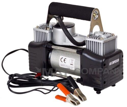 2 Zylinder Hochleistungs 12Volt Luft Kompressor Autoreifen Freizeit