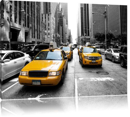 Cityverkehr New York Leinwandbild Wanddeko Kunstdruck