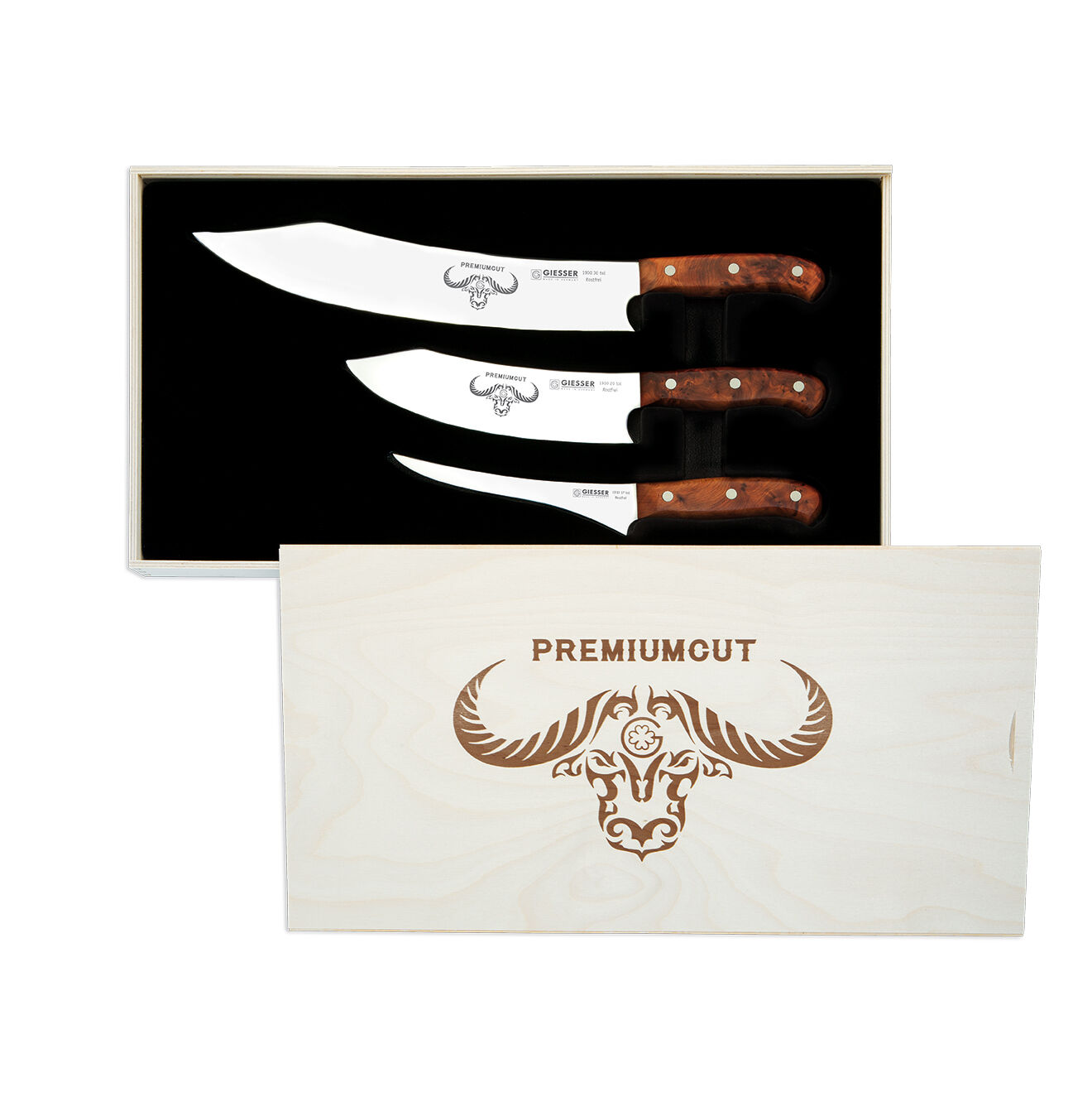 Bilité couteau premiumcut Tree of Life Thuja 3er Set Exclusif Box 1999-3tol