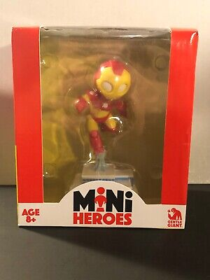 "Marvel Comics Mini Heroes ~ IRON MAN ~  4/"" Mini Figure by Gentle Giant"