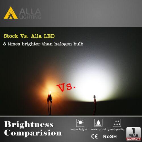 for Ford Set of 4 Alla Lighting Bright White LED Instrument Cluster 168 Bulb